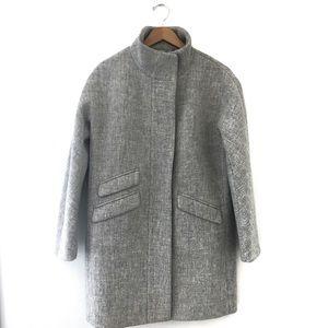 J. Crew Cocoon Coat Italian Stadium-Cloth Wool NWT